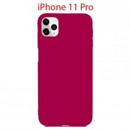 Coque iPhone 11 Pro en Silicone Fin et Mince Violet