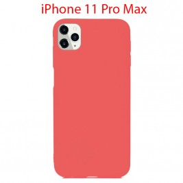 Coque iPhone 11 Pro Max en Silicone Fin et Mince Rose