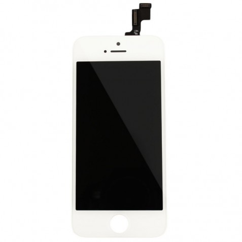 LCD COMPLET 5S BLANC