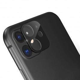 Verre Trempé Caméra Arrière Protecteur pour iPhone 11 Noir