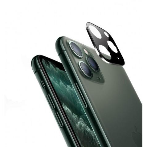Verre Trempé Caméra Arrière Protecteur pour iPhone 11 Pro Noir