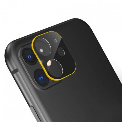 Verre Trempé Caméra Arrière Protecteur pour iPhone 11 Or