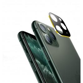 Verre Trempé Caméra Arrière Protecteur pour iPhone 11 Pro Or