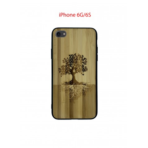 Coque iPhone 6G/6S en Bois Arbre