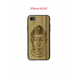 Coque iPhone 6G/6S en Bois Bouddha