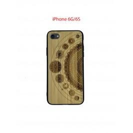 Coque iPhone 6G/6S en Bois Solaire