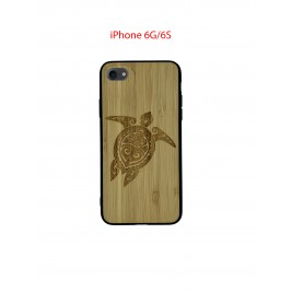 Coque iPhone 6G/6S en Bois Tortue