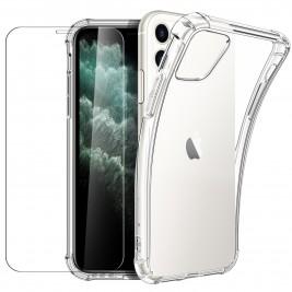 New&Teck Coque iPhone 11 + [Verre Trempé Protection écran]